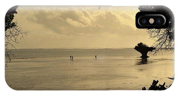 Exploramum iPhone Case - Walking On Water by Exploramum Exploramum