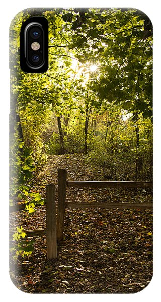 Walking Path IPhone Case