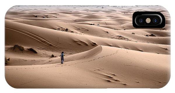 Dunes iPhone Case - Walking The Desert by Yuri San