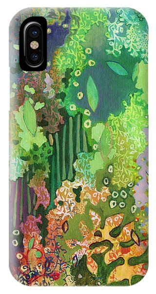Nature Abstract iPhone Case - Walking With The Forest Spirits Part I by Jennifer Lommers