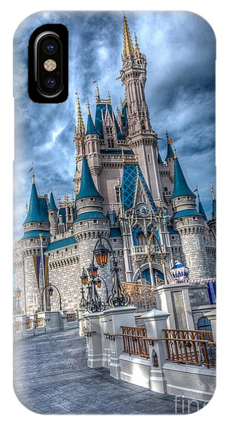 Walkway To Cinderellas Castle IPhone Case