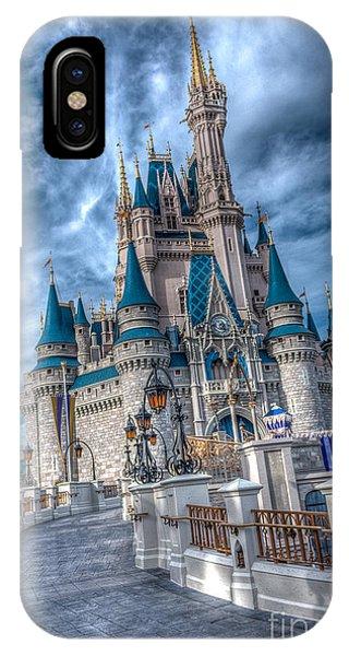 Walkway To Cinderellas Castle IPhone Case