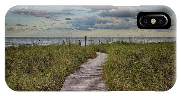Walkway To The Beach IPhone Case