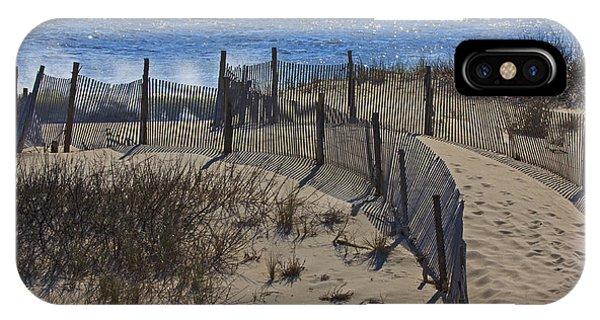 Walkway To The Beach IPhone Case