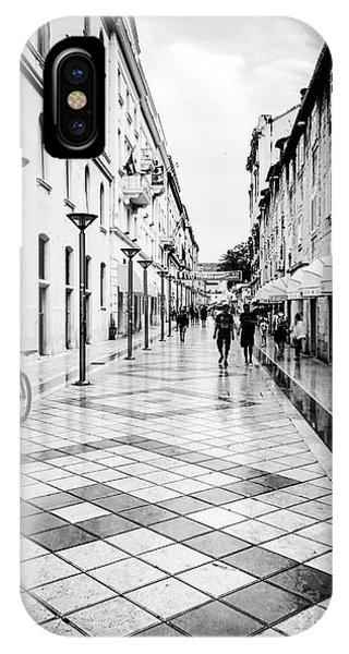 Walkways In Split, Croatia Phone Case by JMerrickMedia