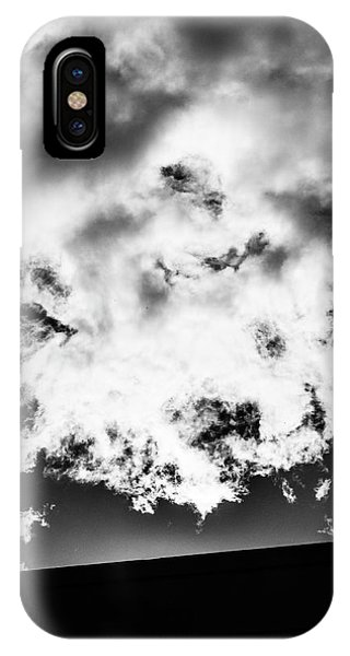Wall And Cloud - Madison - Wisconsin IPhone Case