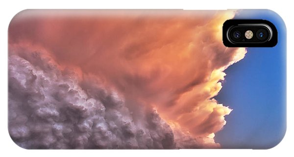 Wall Of Boiling Clouds IPhone Case