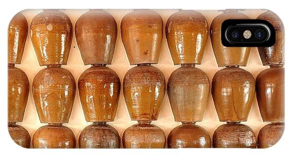 Wall Of Ceramic Jugs IPhone Case