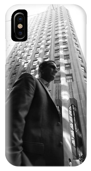 Wall Street Man II IPhone Case