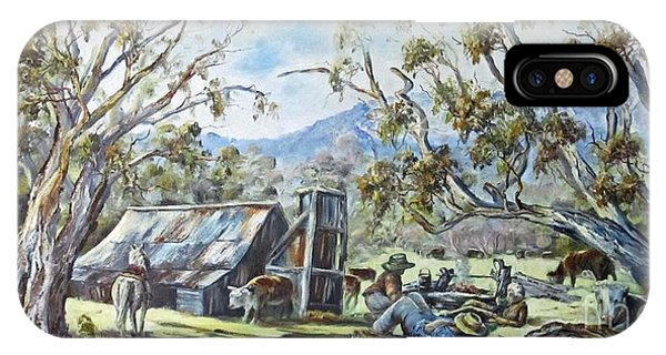 Wallace Hut, Australia's Alpine National Park. IPhone Case
