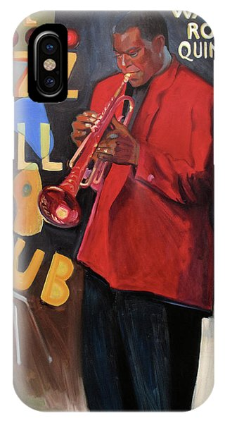 Wallace Roney IPhone Case