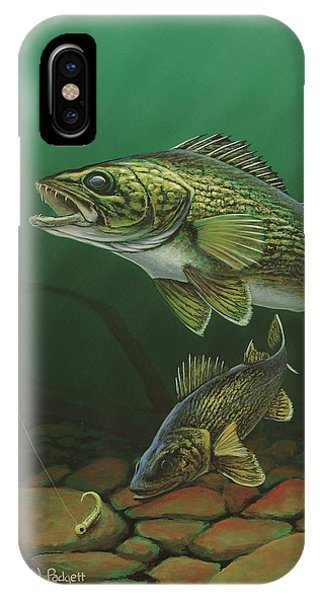 Walleye IPhone Case