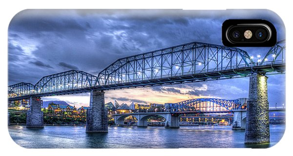 Walnut Street Pedestrian Bridge Chattanooga Tennessee IPhone Case