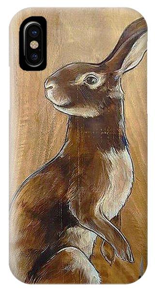 Walnutty Bunny IPhone Case