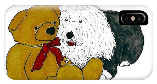 Walt And Ted IPhone Case
