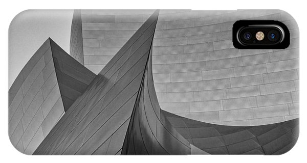 Walt Disney Concert Hall Three IPhone Case