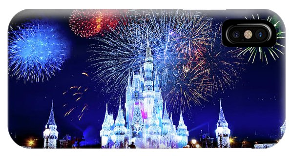 Andrew iPhone Case - Walt Disney World Fireworks  by Mark Andrew Thomas