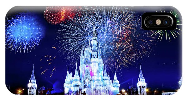Walt Disney World Fireworks  IPhone Case