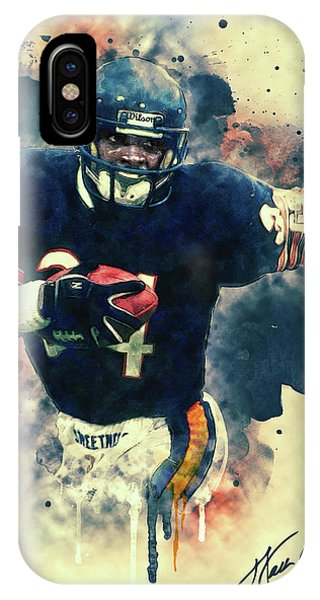 Walter Payton IPhone Case