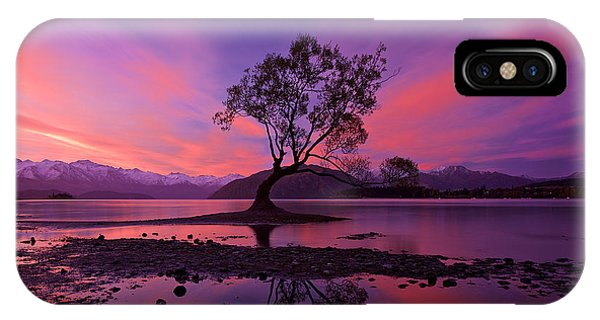 Wanaka Tree IPhone Case