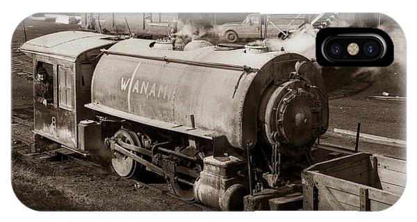 Wanamie Pennsylvania Coal Mine Locomotive Lokey 1969... IPhone Case