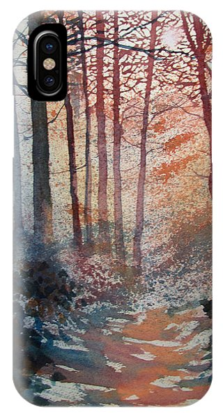 Wander In The Woods IPhone Case