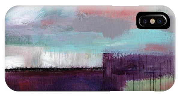 Grey Skies iPhone Case - Wanderlust 22- Art By Linda Woods by Linda Woods