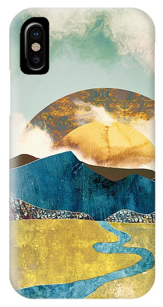 Abstract Landscape iPhone Case - Wanderlust by Katherine Smit
