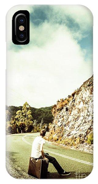 Explorer iPhone Case - Wanderlust Southwest Tasmania by Jorgo Photography - Wall Art Gallery