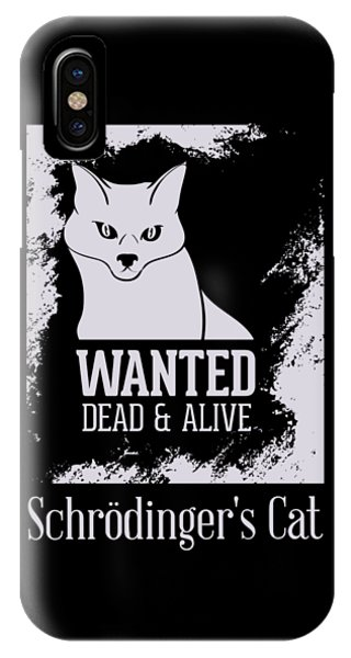 IPhone Case featuring the digital art Wanted Dead And Alive by Christopher Meade
