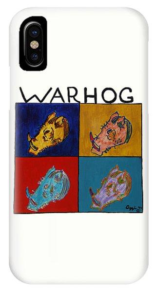 Warhog IPhone Case