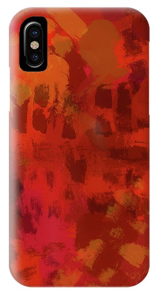 Endless iPhone Case - Warm Abstract 1 by Dan Sproul
