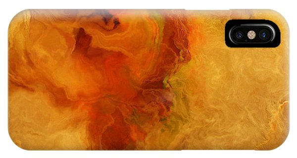 Warm Embrace - Abstract Art IPhone Case