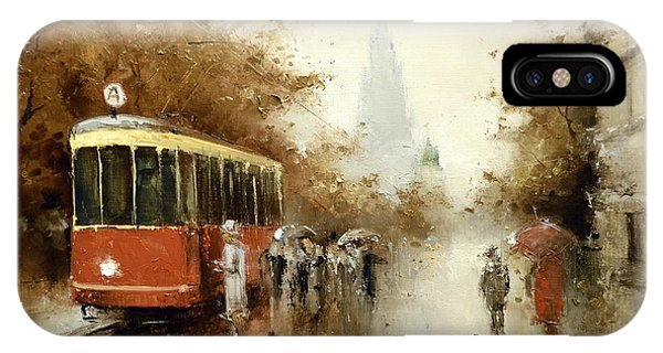 Warm Moscow Autumn Of 1953 IPhone Case