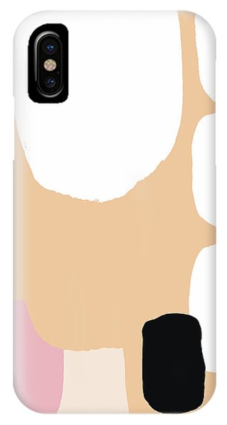 Warm Pastel Abstract IPhone Case