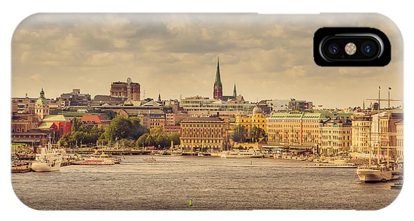 Warm Stockholm View IPhone Case