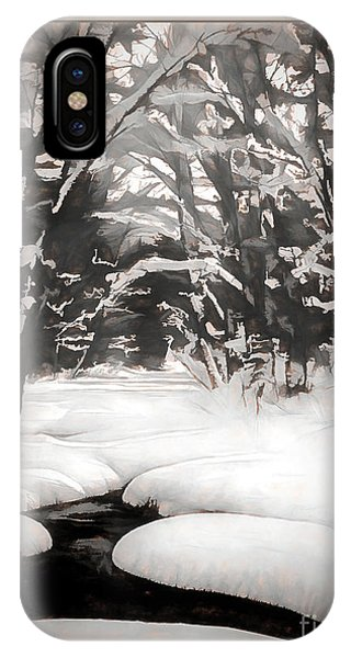 Warmth Of A Winter Day IPhone Case