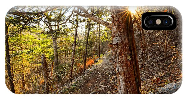 Warmth Of Comfort - Blowing Springs Trail In Bella Vista Arkansas IPhone Case