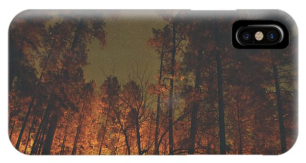 Warmth Of Trees And Stars IPhone Case