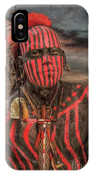 Warpath Shawnee Indian IPhone Case