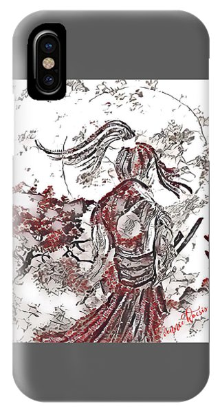 Warrior Moon Anime IPhone Case
