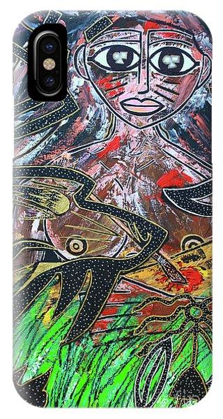 Warrior Spirit Woman IPhone Case