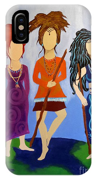 Warrior Woman Sisterhood IPhone Case