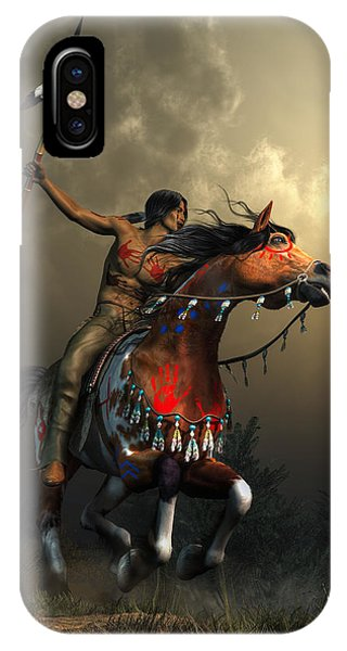 Warriors Of The Plains IPhone Case