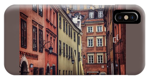 Warsaw Old Town Charm IPhone Case