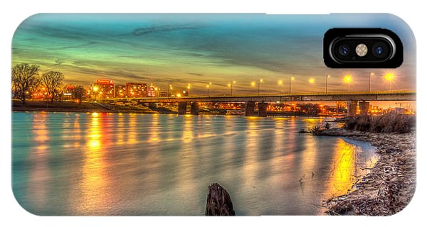 Warsaw Reflected By Vistula River IPhone Case