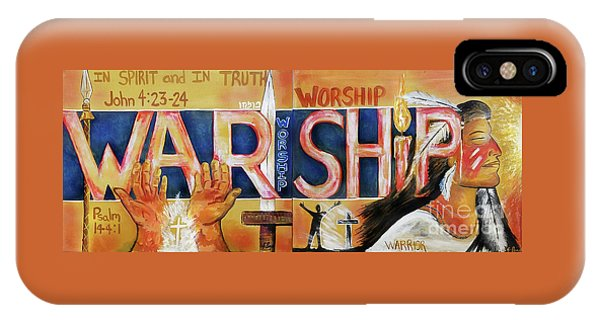 IPhone Case featuring the painting Warship by Jennifer Page