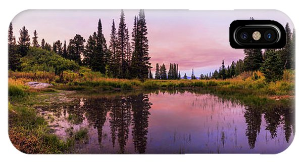 Pond iPhone Case - Wasatch Back by Chad Dutson