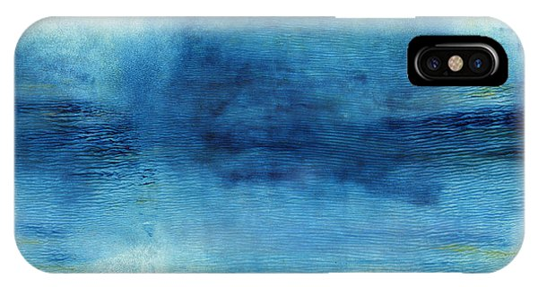 Gallery Wall iPhone Case - Wash Away- Abstract Art By Linda Woods by Linda Woods