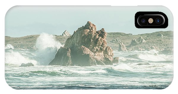 Tidal iPhone Case - Wash Of Blue by Jorgo Photography - Wall Art Gallery